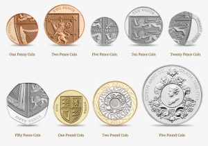 Coins of the realm - you could almost just as well throw one