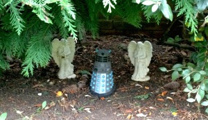 I have a Dalek grotto in my back garden