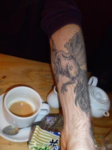 Karl Schultz tattoo