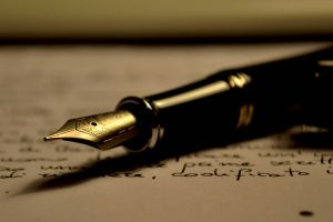 pen nib I hope I have no one sty;e