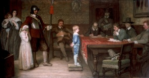 A picture painted by William Frederick Yeames in 1878