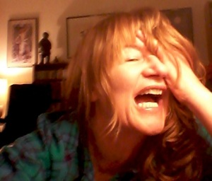 """Anna Smith last night, """"after three days of sleeping on a psychiatrist's couch"""""""