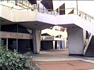 The entrance to the ATV/Central studios in Birmingham