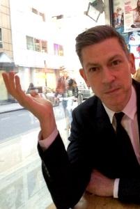 David Mills at the Soho Theatre Bar this week