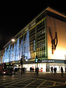 John Lewis store in Oxford Street, London (Photograph by Martin Addison)