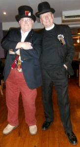 John Ward and Rev Pedro Perrnackerpan