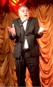 Lewis Schaffer briefly went all Jewish in the show last night