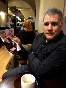 Lewis Schaffer talked to me in Starbucks last night