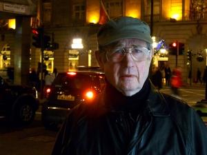Micky Fawcett outside The Ritz Hotel in London last week