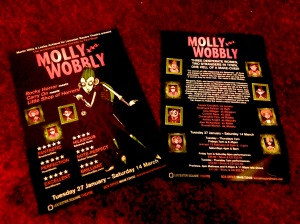 Molly Wobbly Leicester Square flyers