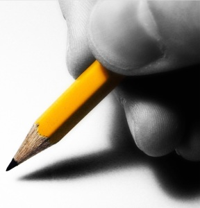 The pencil is more powerful than the pen?