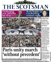 Yesterday The Scotsman reported theParis march