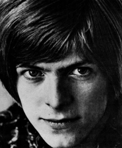 David Bowie in 1967, the so-called Summer of Love