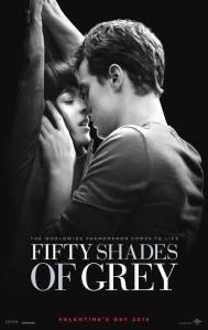 An irrelevant film poster for Fifty Shades of Grey