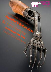 Jennifer's Robot Arm - the read-through on Monday
