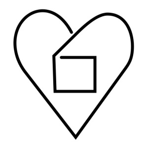 "The ""love outside the box"" symbol, sometimes used to represent non-monogamy, polyamory, and LGBT relationships,"
