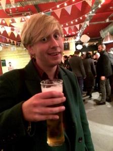 Matt Tedford at the Backyard Bar last night