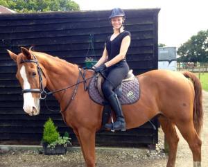 Nicole Harvey grew up with her horse
