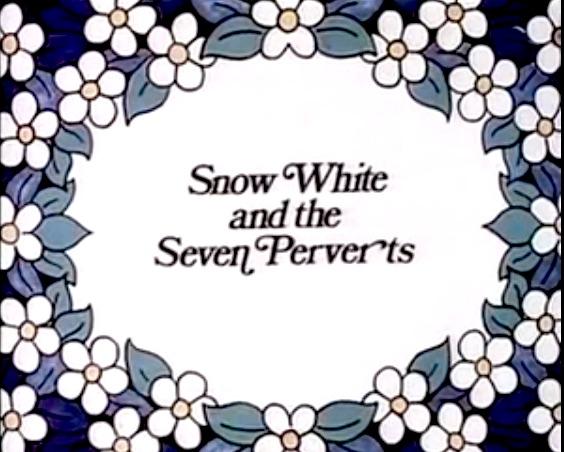 Sieben die schneeflittchen und Schneeflittchen Und