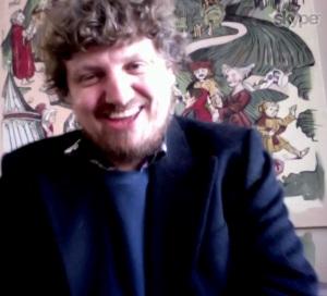 Paul Vickers on Skype yesterday