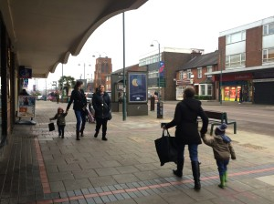 The streets of Borehamwood were not impressed at 09.31am today