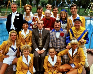 The cast of Hi-de-Hi