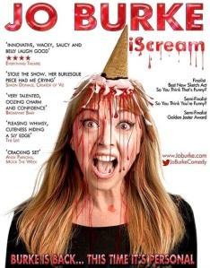 Jo Burke iScream designed by Steve Ullathorne