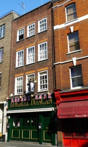 Admiral Duncan pub  in Soho (Photo by Ewan Munro)