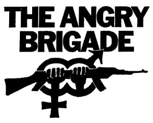 The Angry Brigade logo - whoever they really all were