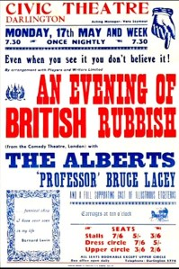 An Evening of British Rubbish toured Britain