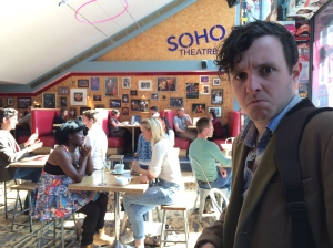 Gareth shocked by Soho Theatre's removal