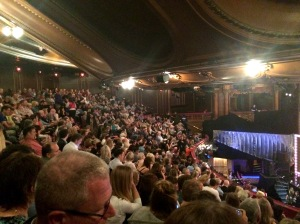 The London Palladium Royal Circle yesterday