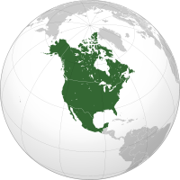 Wikipedia's map of the NAFTA free trade area