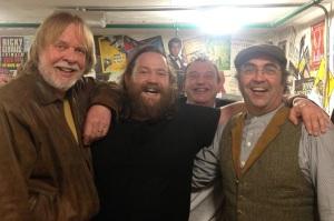 (From left) Rick Wakeman, Michael Livesley, Jonny Hase & DannyBaker