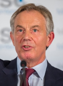 Tony blair - These are the eyes of a man who has talked to god (Photo: Marc Müller