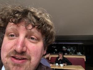 Mr Twonkey's selfie, taken yesterday
