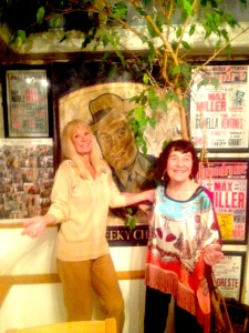 Carol Cleveland with Lynn Ruth Miller in Max Miller collection