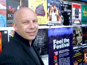 Charles Pamment at the 2012 Edinburgh Fringe