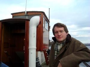 Mr Methane's modest, mild-mannered alter ego Paul Oldfield