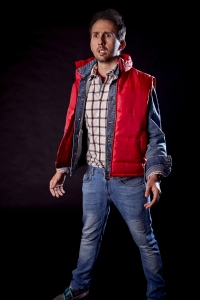 Nathan Cassidy - Back to the Future in a jacket