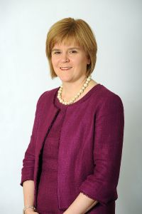 Nicola Sturgeon: the most trusted party leader in England