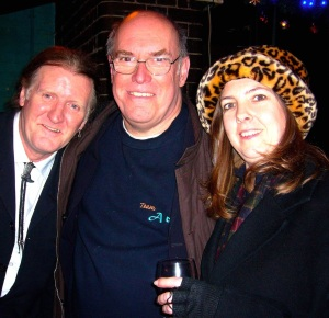 With Brian Damage & Vicky de Lacy in 2007