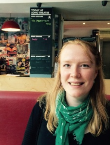 Cassandra Hodges chatted at the Soho Theatre
