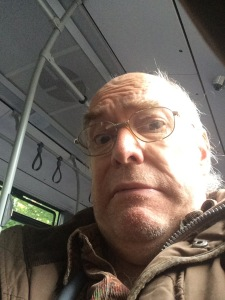 Fear stalked the bus yesterday