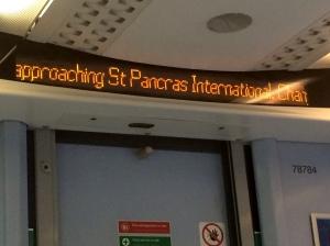 Wrong Thameslink sign