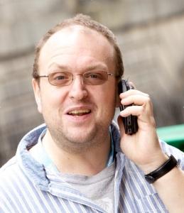 Alex Petty at the Edinburgh Fringe in 2013 (Photograph by Brian Higgins)