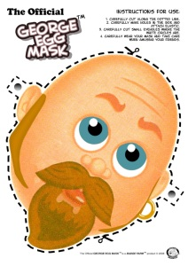 George Egg mask