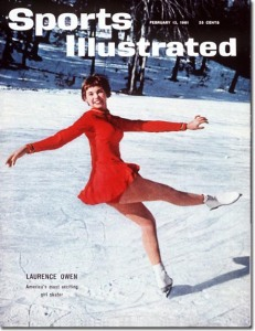 The wrong Laurence Owen - Women's Figure Skating February 13, 1961 X 7205 (Photo: Jerry Cooke)