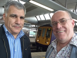 Lewis Schaffer talked to me on Platform 2 at Blackfriars station