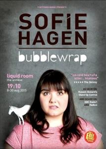 Sofie Hagen has a memorable opening line